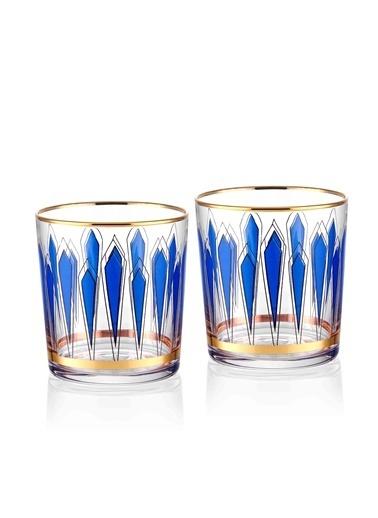 The Mia Su Bardağı 2'Li Set 380 Cc Mavi
